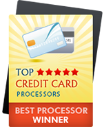 Top Credit Card Processors badge